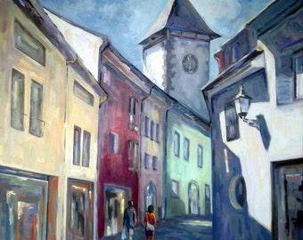 Freiburg, seminary road, lane