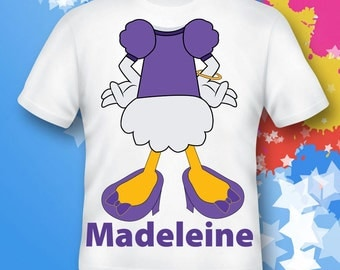 Daisy Duck Shirt.  Daisy Duck Shirt.  Daisy Duck gift. Daisy Duck costume.  Daisy Duck birthday