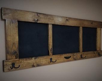 Chalkboard Coat Rack
