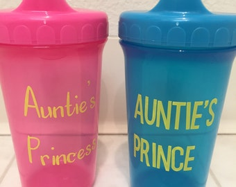 Auntie's Princess/Prince Sippy Cup