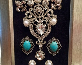 Framed Jewelry Art