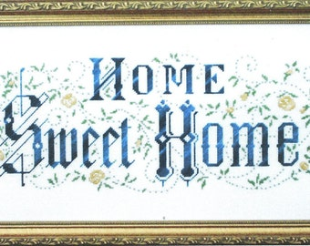 Home Sweet Home by Dutch Treat Counted Cross Stitch Pattern/Chart