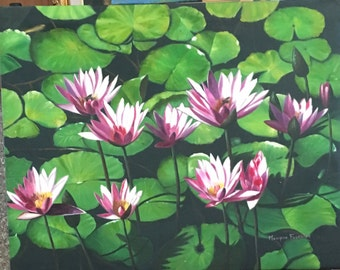 WATER LILIES (NENUPHARS)