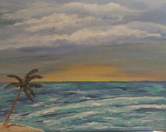 Summer Days Acrylic Painting Original