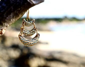 Bronze Earrings - TANOK