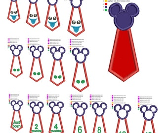 Necktie neck tie Pack applique embroidery machine . embroidery pattern, embroidery designs