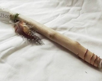 Crystal tipped, hand carved, Wiccan, witches, wand