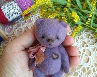 Little Bilberry teddy bear