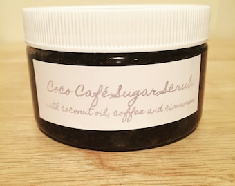 Coco Cafe---Coffee and Cinnamon Brown Sugar Scrub