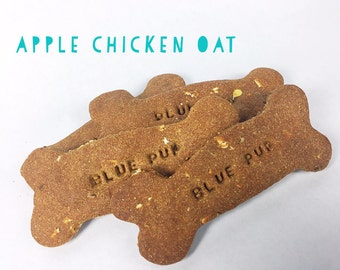 Apple Chicken Oat Gourmet Dog Treat Bones