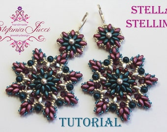 Tutorial DIY Italian Scheme-Stella Stellina-earrings