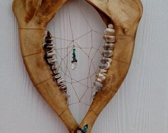 Elk Jaw Bone Dreamcatcher