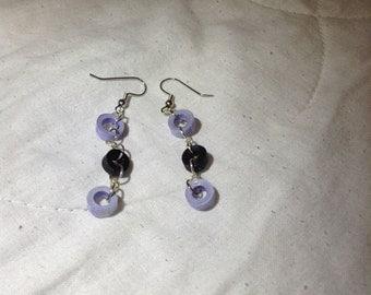 Dangling circles earrings