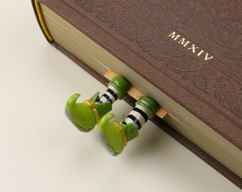 Leprechaun bookmark, Great Gift for a Book Lover, St Patrick's day gift idea, Fantasy bookmark
