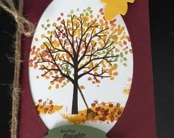 Autumn Friendship Card