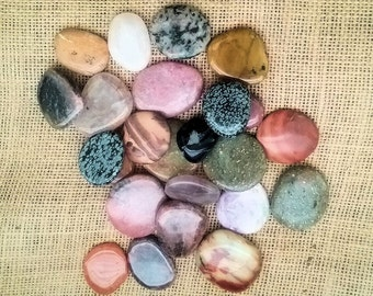 Polished Pocket Stone Intuitively Chosen for You