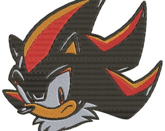 Shadow Sonic Embroidery Design