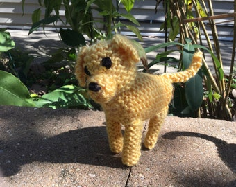 Knitted Labrador Puppy