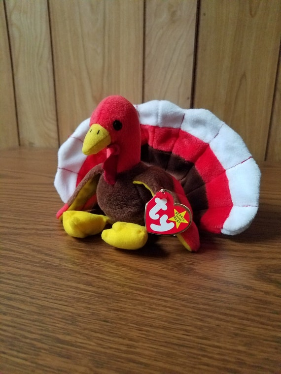 "Ty ""Gobbles"" the Turkey Beanie Baby ***RARE***"