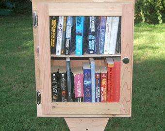 Neighborhood Library - With Shelf