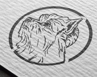 Yorkshire Terrier, Terrier svg, Terrier art, Terrier digital art, Yorkshire graphic, Terrier graphic, Terrier clip art