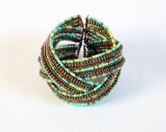 Multi Colour Wrap Bracelet