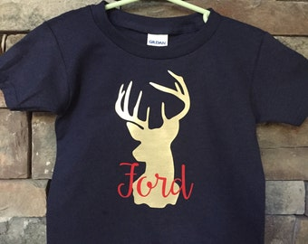 Personalized Deer Silhouette Shirts