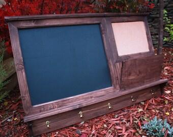 Large Chalkboard Organiser