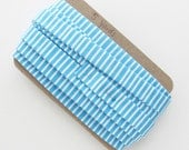 Quilt Binding Blue and White Striped Double Fold Binding Trim 5 Yards