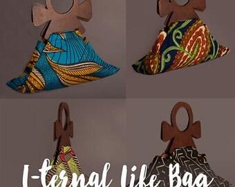 I-ternal life Ankh handle bag