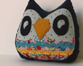 Madie the Owlet little owl pillow plushie
