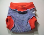 Grateful Buns Wool Soaker 2 - Layer Diaper Cover Large 20 to 30 lbs LS465B16(4.2)