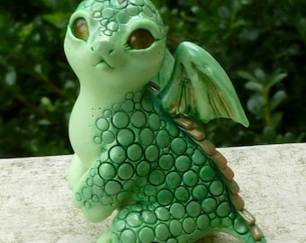 Leek - Myxie Dragon Pal Sculpture
