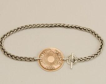 Peru Coin Bracelet 1948
