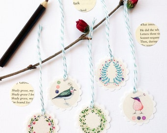 A Forest's Palette - Paper Tag Set