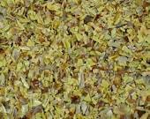 Destash Glass Frit Blend Iris Orange Raku That Frit Girl COE 96 1.1 oz Bag