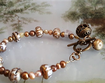 Eastern Pearl Bracelet