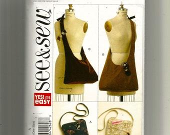 Butterick  Handbags Pattern 5273
