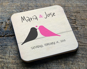 Custom Coasters  Wedding Coasters  Paper Coasters  Personalized  Wedding Favors - Choose ANY DESIGN from my shop - YOUR design