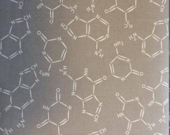 Gray Chromatics Molecules from In The Beginning Fabrics  - 1 Yard