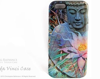 Buddha iPhone 6 6s Case - Living Radiance - Dual Layer Two Piece Protective Buddhist Tough Case