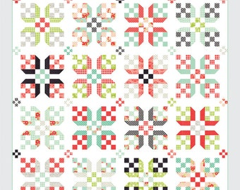 Early Bird quilt pattern from Thimble Blossoms - treats or fat quarter friendly