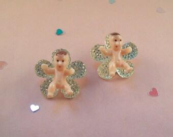 Flower Baby Earrings