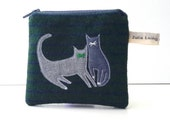 CUSTOM ORDER - Reserved for tallenSA - Wool Coin Purse