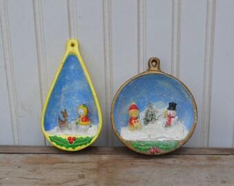 Handmade Diorama Ceramic Ornaments - Royal Hill Vintage