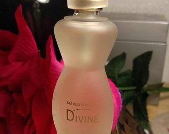 Vintage Marilyn Miglin Divine EDP Eau De Parfum Spray Perfume Fragrance Original Formula Full
