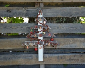 Reclaimed Wood Christmas Tree-Farmhouse