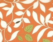 SALE Moda Chrysalis by Sanae Butterfly Garden Orange cotton Fabric by the yard 32421-19