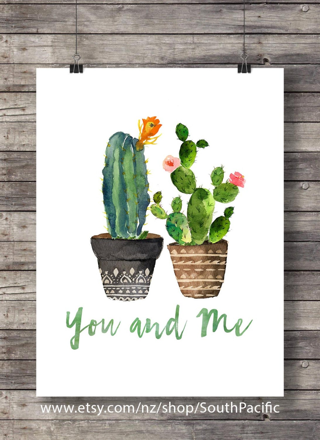 cactus t y yo cactus de san valent n acuarela cactus. Black Bedroom Furniture Sets. Home Design Ideas