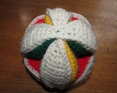 Crochet Puzzle Ball Safe Baby Toy